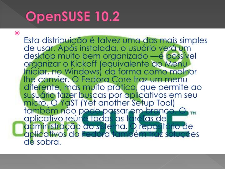OpenSUSE 10.2