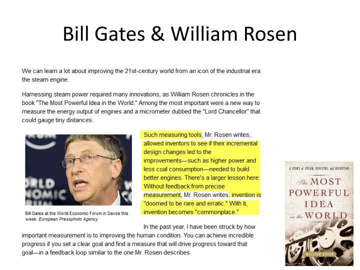 Bill Gates & William Rosen