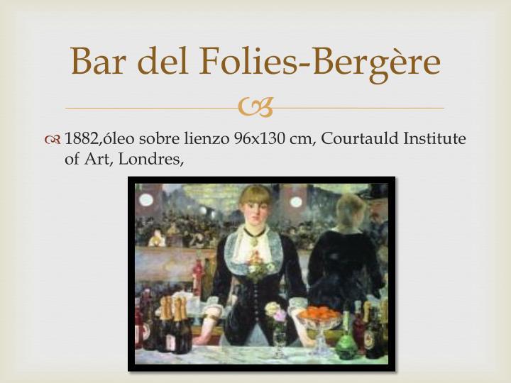 Bar del Folies-