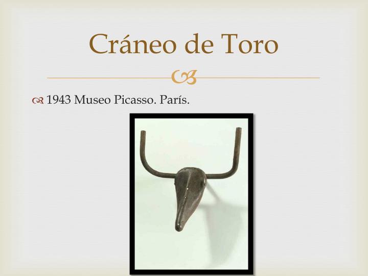 Cráneo de Toro