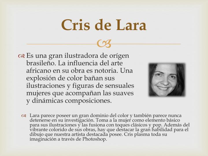 Cris de Lara
