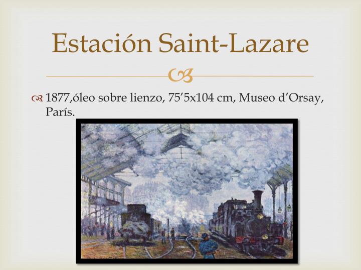 Estación Saint-Lazare