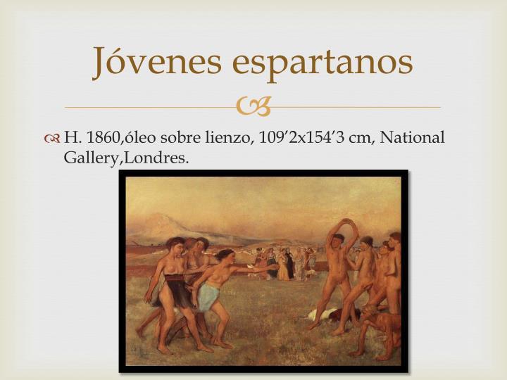 Jóvenes espartanos