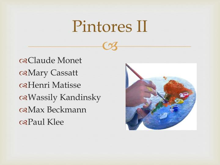 Pintores II