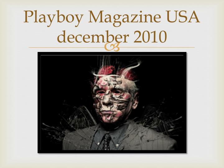 Playboy Magazine USA