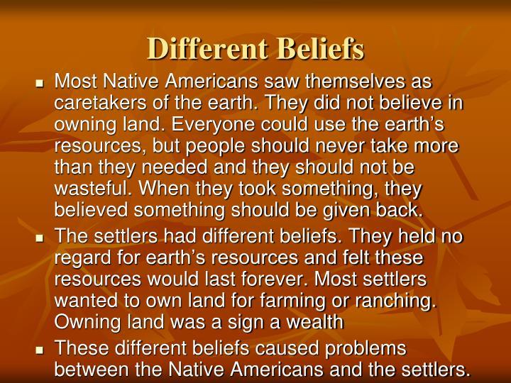 natives americans essay