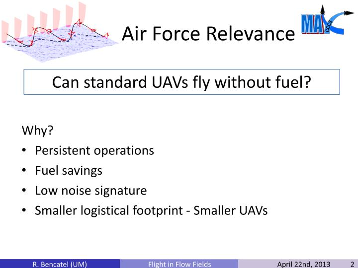 Air force relevance