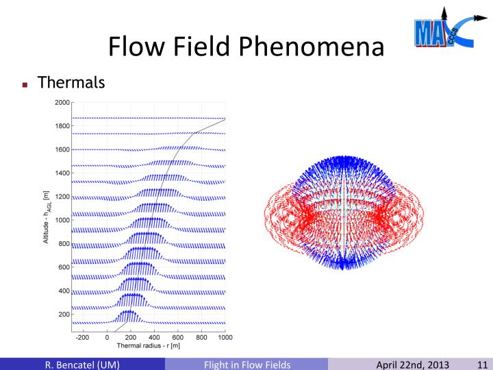 Flow Field Phenomena