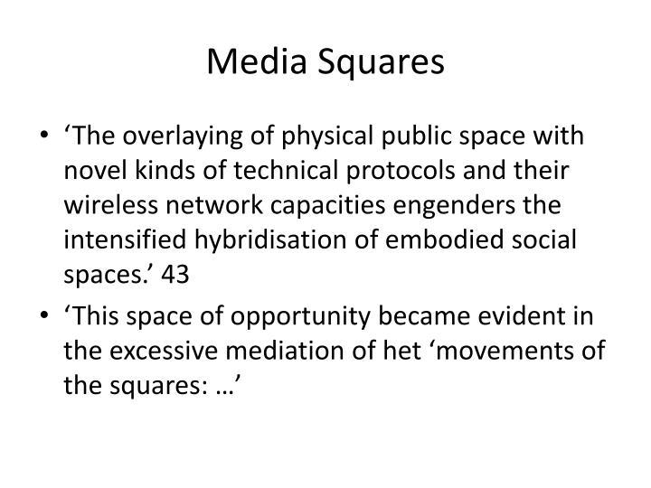 Media Squares