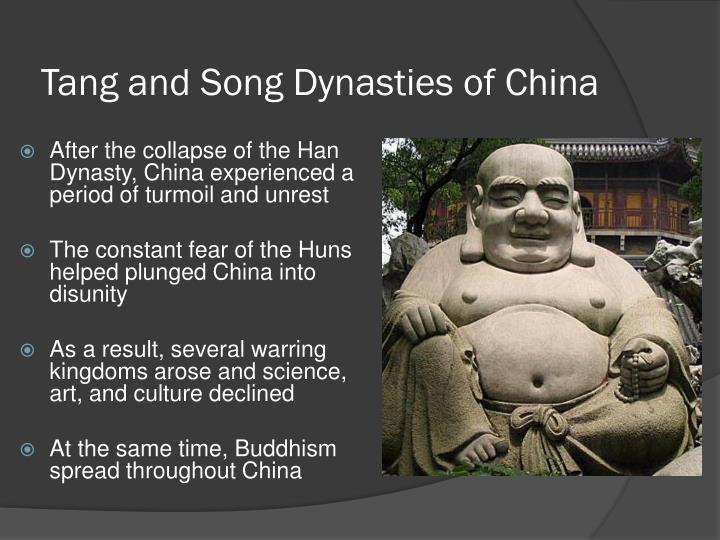 Tang and Song Dynasties of China