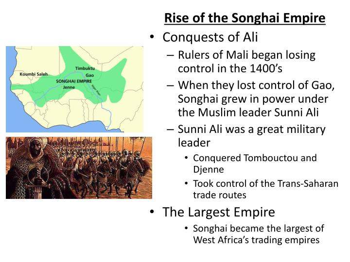 Rise of the Songhai Empire