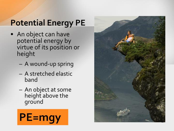 Potential Energy PE