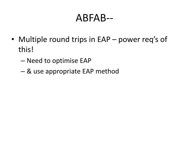 ABFAB--