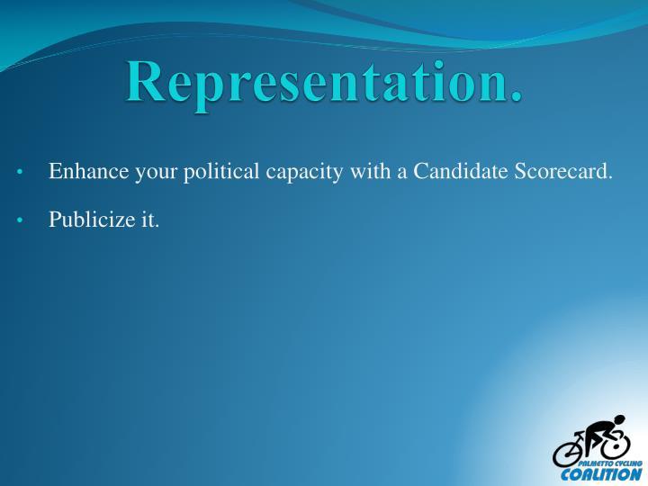 Representation.