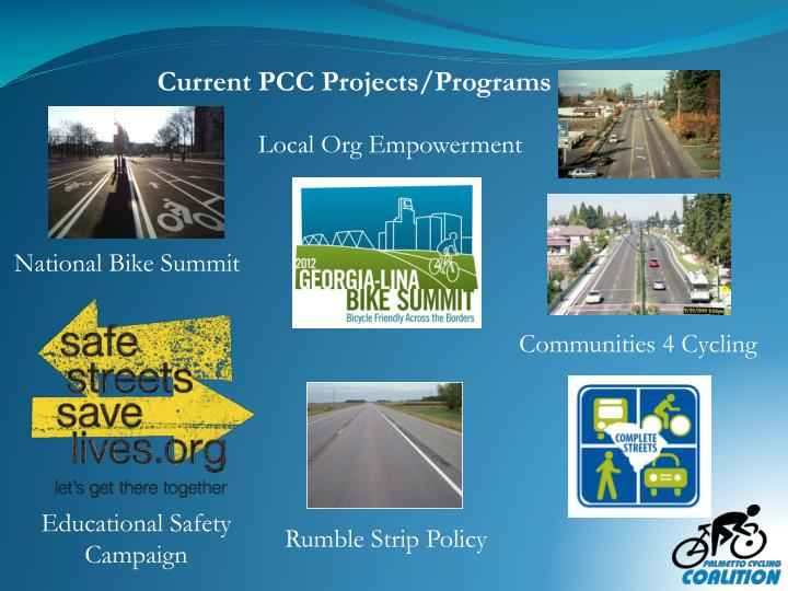 Current PCC Projects/Programs