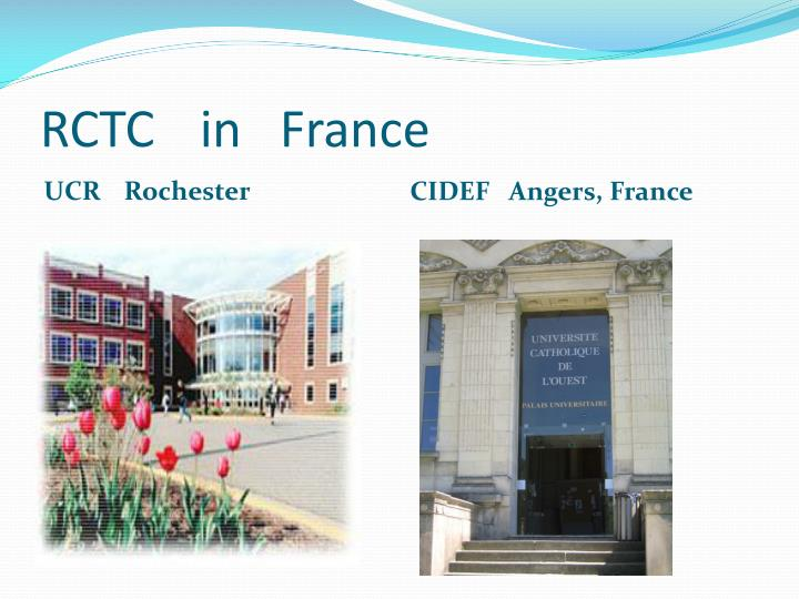 Rctc in france
