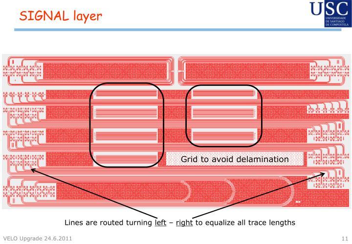 SIGNAL layer