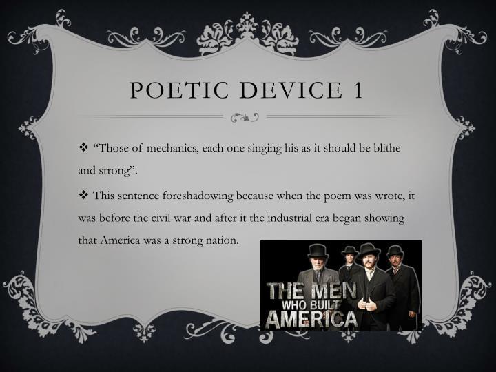 Poetic device 1