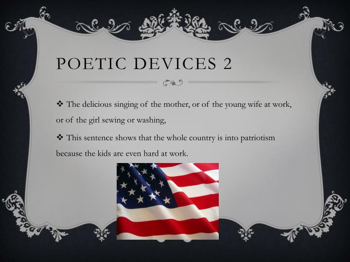 Poetic devices 2