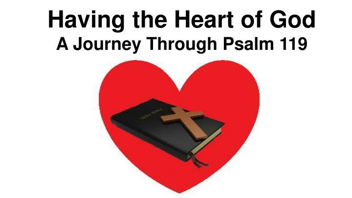 Having the Heart of God