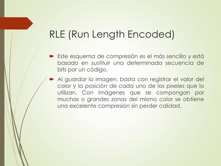 RLE (