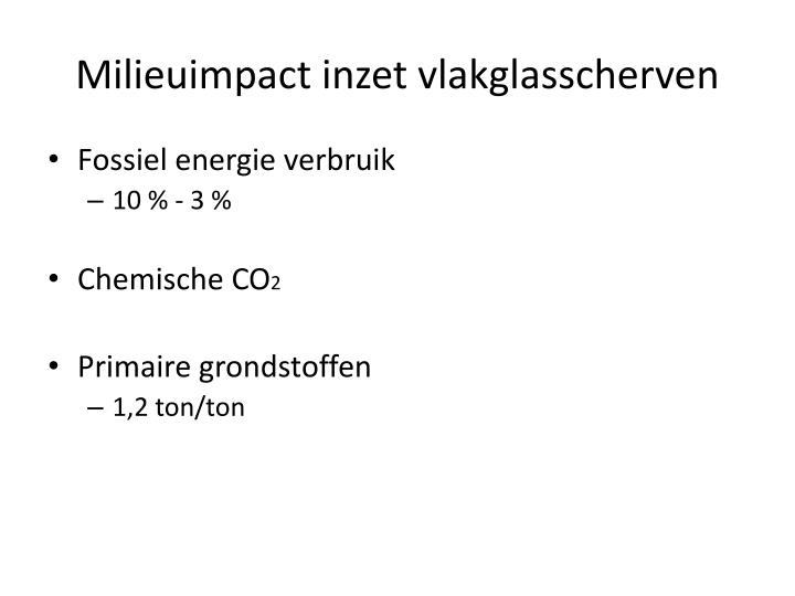 Milieuimpact