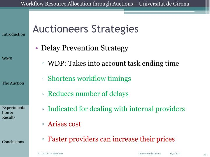 Auctioneers