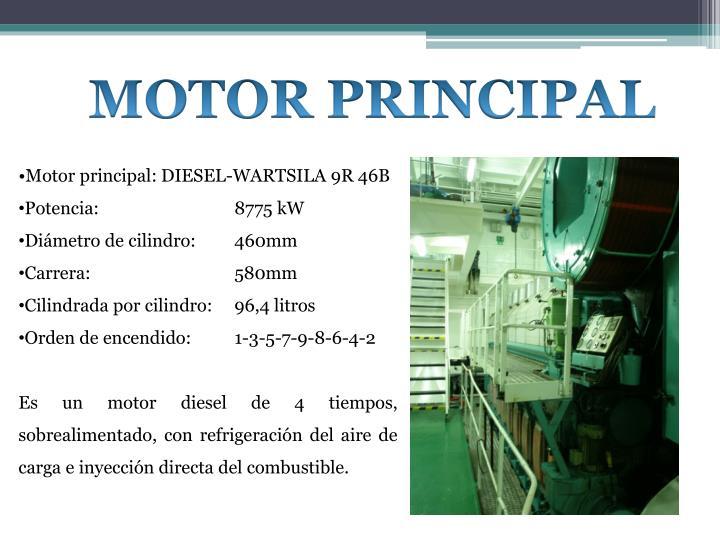 MOTOR PRINCIPAL