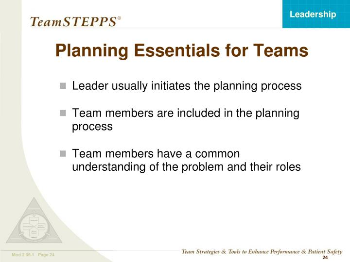 Planning Essentials for Teams