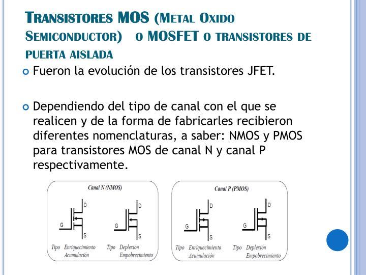 Transistores MOS