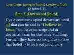 love limits loving in truth loyalty to truth 2 john 5 89