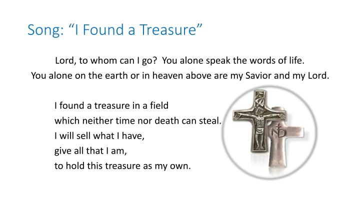"Song: ""I Found a Treasure"""