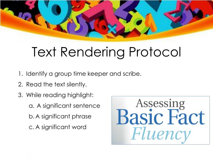 Text Rendering Protocol