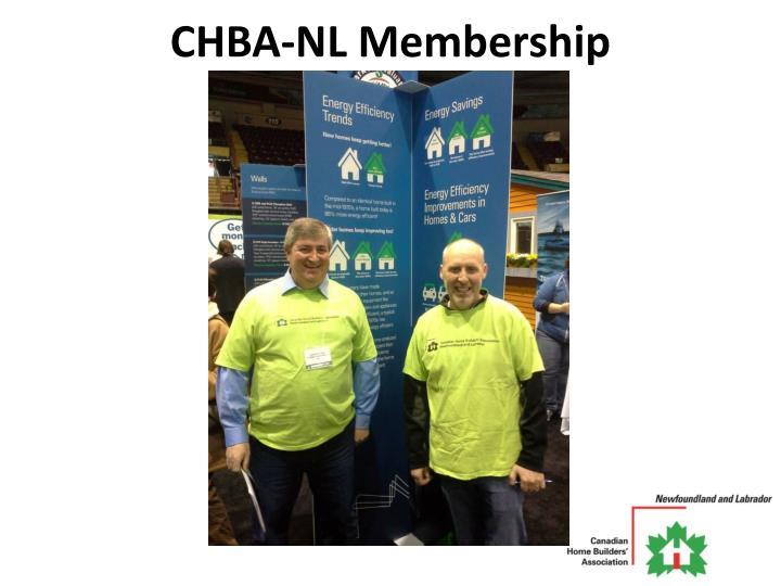 CHBA-NL Membership