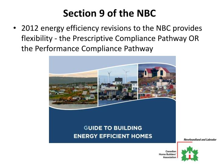 Section 9 of the NBC