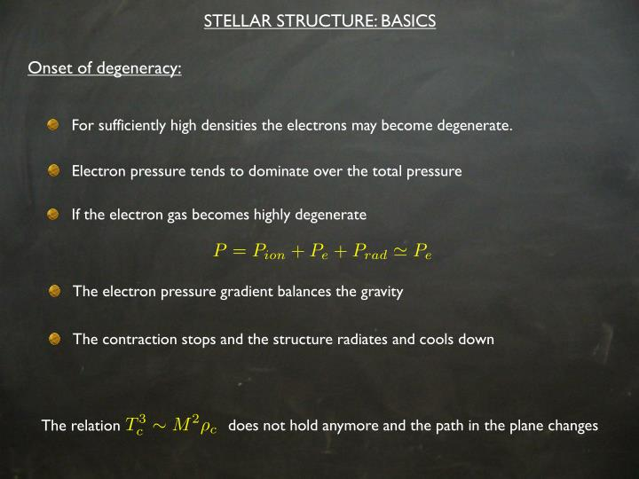 STELLAR STRUCTURE: BASICS