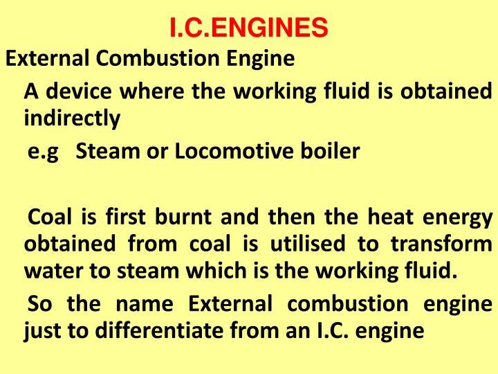 I.C.ENGINES