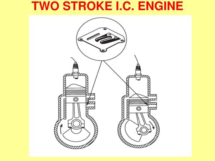 TWO STROKE I.C. ENGINE