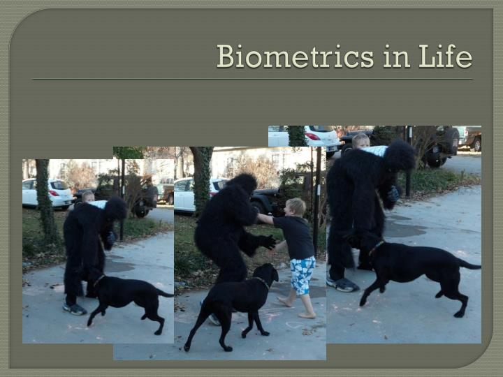 Biometrics in Life