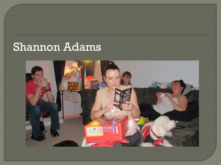 Shannon Adams