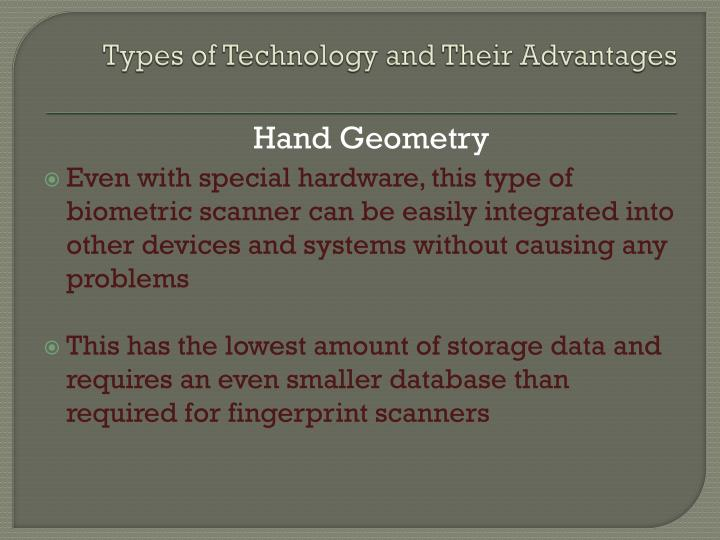 Types of Technology and Their Advantages