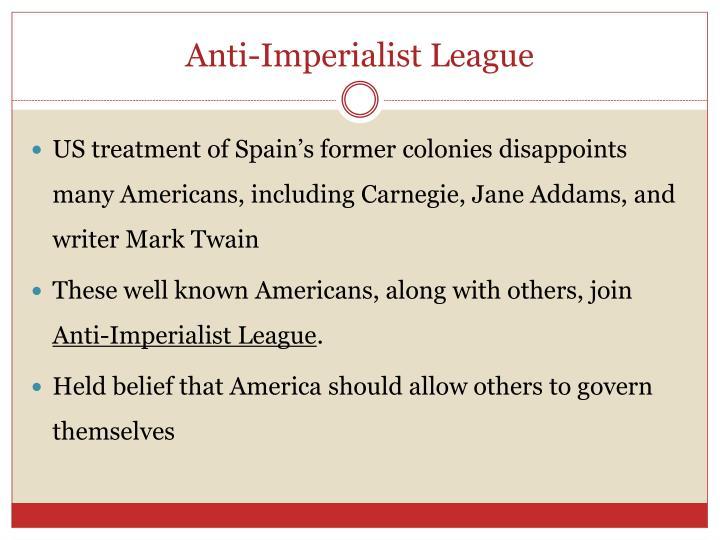 Anti-Imperialist League