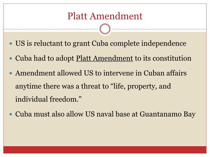 Platt Amendment