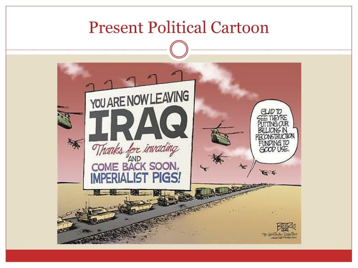 Present Political Cartoon