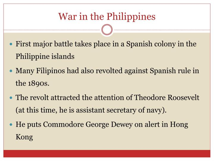 War in the Philippines