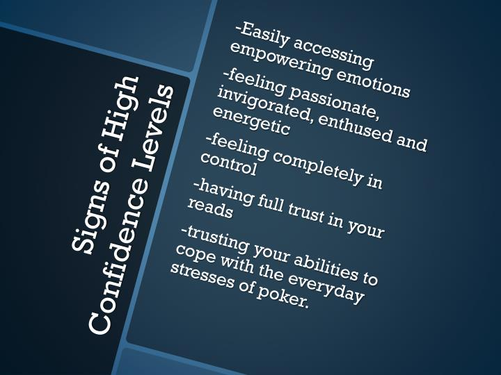 -Easily accessing empowering emotions