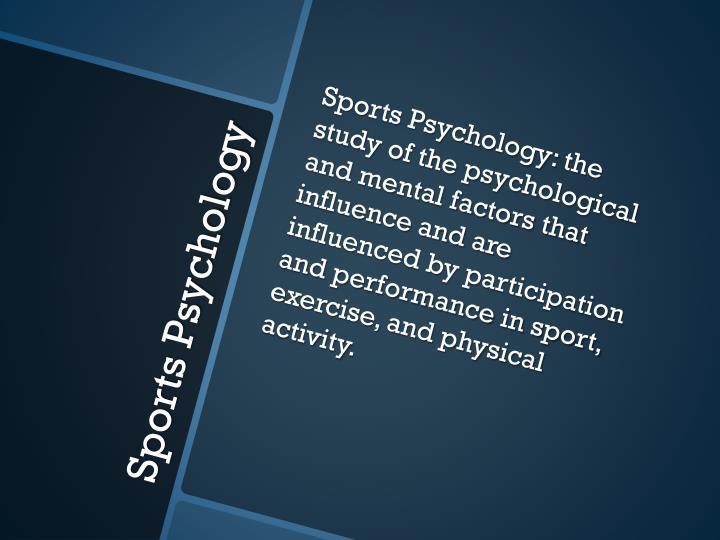 Sports Psychology: