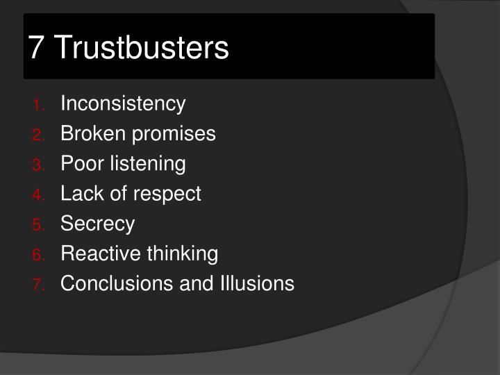 7 Trustbusters