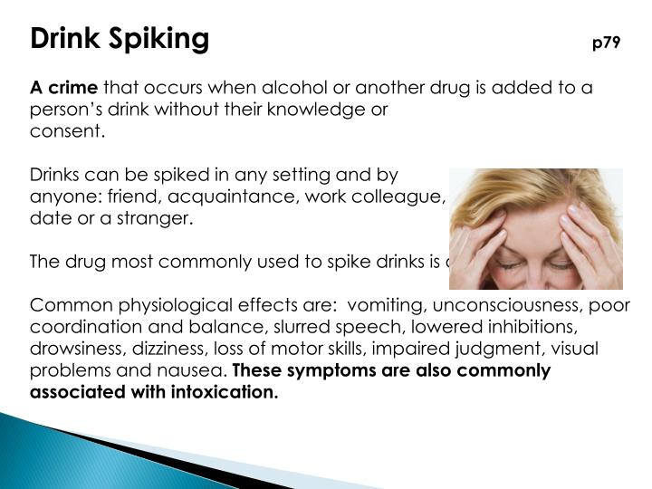 Drink Spiking