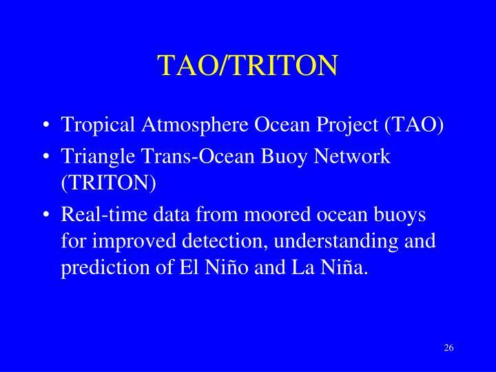 TAO/TRITON